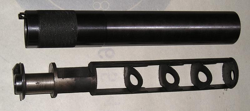 глушитель на пистолет схема видео