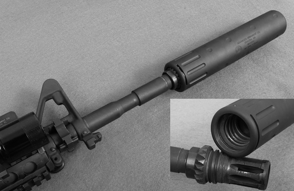 Глушитель AAC M4 американской